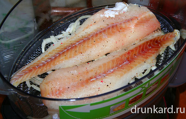Хек рыба на пару в мультиварке рецепты