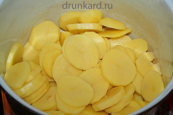 Постное картофельное пюре