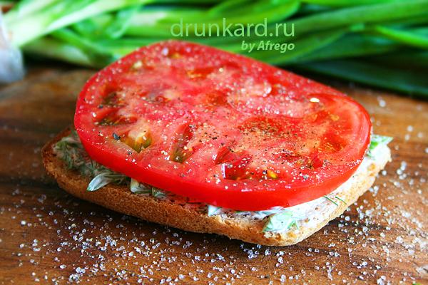 овощной бутерброд
