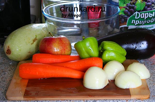 Перловая каша с овощами