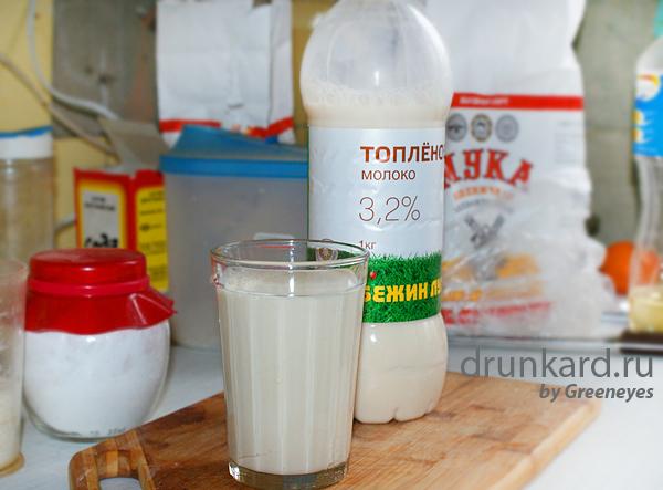 Рисовая каша на топлёном молоке