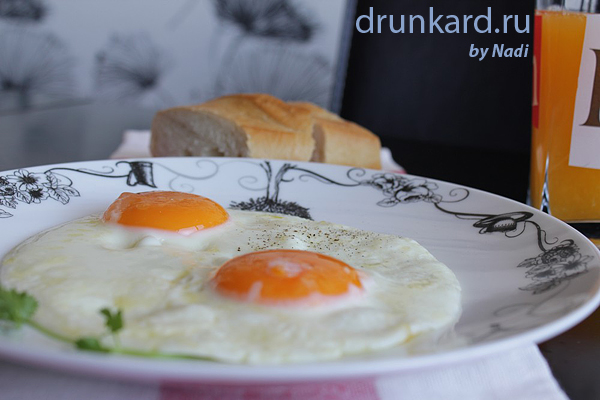 Яичница глазунья V2.0 (кулинарный батл)