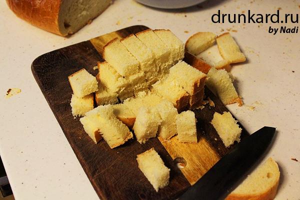 Пудинг из чёрствого хлеба
