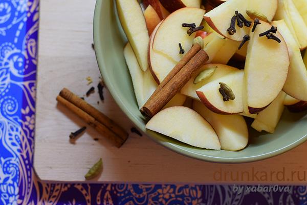 варенье из яблок с корицей и кардамоном