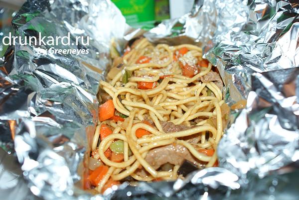 Токио (тест доставки азиатской кухни в Новомосковске)