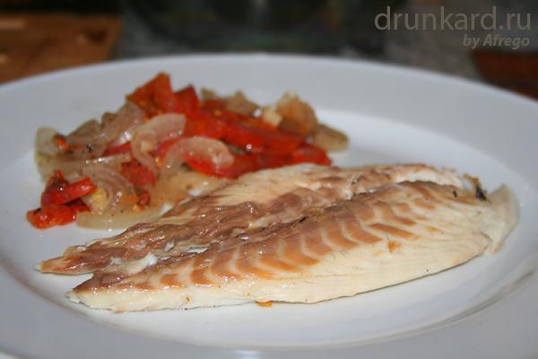 рыба в солёном тесте