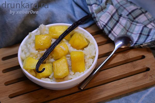 Рис с манго на кокосовом молоке