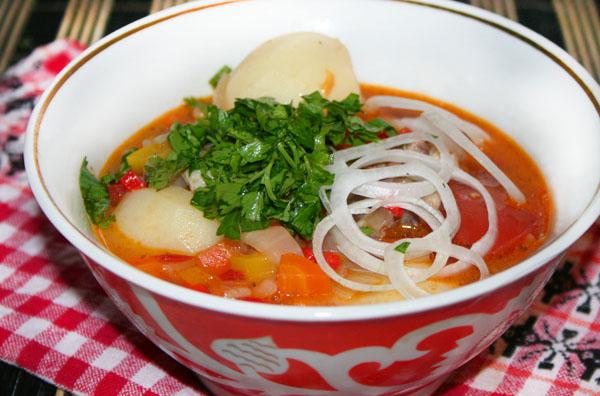 Суп с грибной икры рецепт