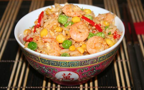 рис по-китайски с яйцом и овощами рецепт с фото