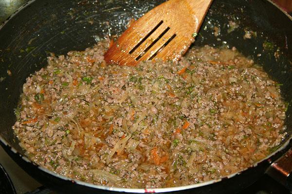 как приготовить фарш для пирожков из капусты