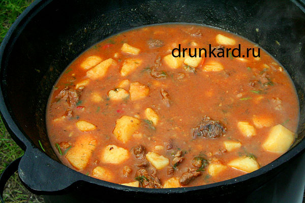 рецепт как хотовить суп гуляшовыи