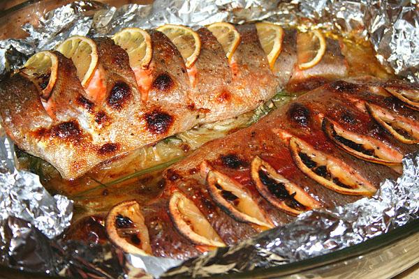 Рыба на углях в фольге рецепт с