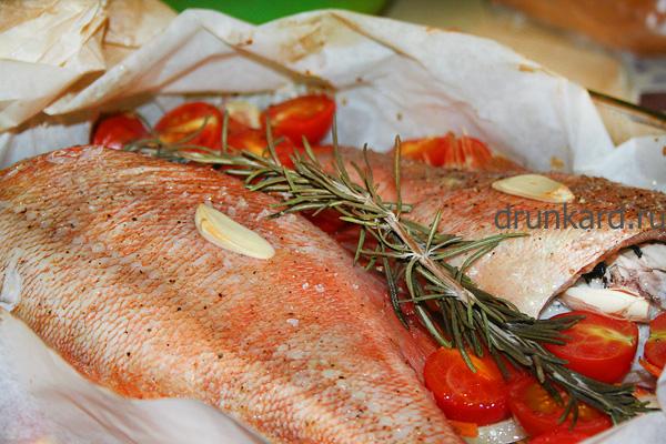 морской окунь запеченный рецепты с фото